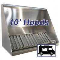 10' Concession Vent Hoods