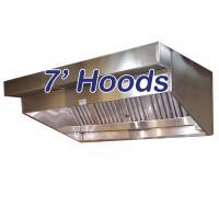 7' Sloped Canopy Hoods
