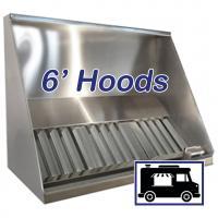 6' Concession Vent Hoods