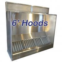 6' Standard Vent Hood