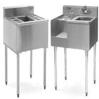 Underbar Cocktail Stations, Sinks & Ice Bins